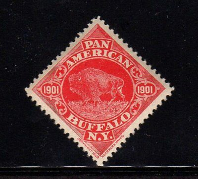 1901 Pan American Exposition Poster Stamp Buffalo N Y