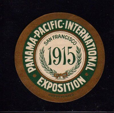 1915 Panama Pacific International Exposition Poster Stamps San Francisco