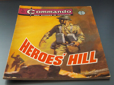 Commando War Comic Number 487 !!,1970 Issue,very Good For Age,48 Years Old,rare.