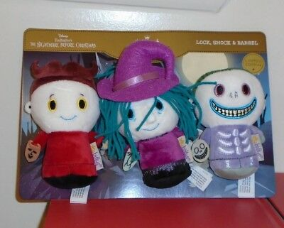 Hallmark Itty Bitty Bittys ~ Lock Shock Barrel Disney Nightmare Before Christmas