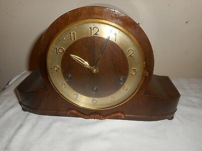 Vintage, Whittington / Westminster Chimes Mantle Clock, HAC / Hermle ? Movement.