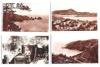 GUERNSEY, 7 REAL PHOTOGRAPH POSTCARDS & 2 OTHERS, Mid 20thc