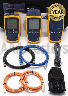 Fluke MS2-FTK Microscanner 2 & Simplifiber Pro Copper / MM Fiber Loss Test Kit