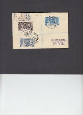 Aden 1937 Coronation First Day Cover