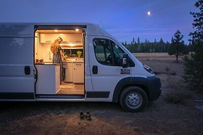 2017 RAM ProMaster 2500 High Roof 159in Wheelbase Campervan