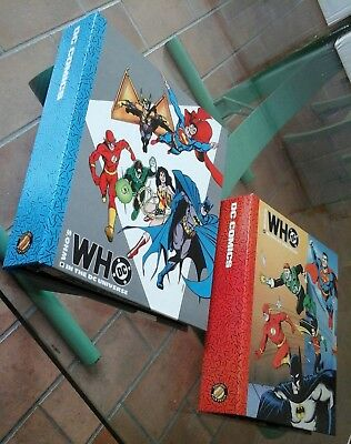WHO'S WHO IN THE DC UNIVERSE completa 16 dispense + i 2 raccoglitori Play Press