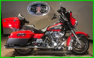 Touring  2006 Harley-Davidson FLHTCUI Electra Glide Ultra Classic Scarlet Red & Charcoal