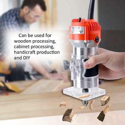 Woodworking Electric Trimming Machine Engraving Wood Milling Slot Machine Y6D6