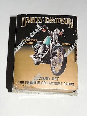 Harley Davidson Collector  Card Set 100 Cards Series 2