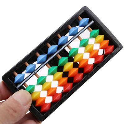 Wooden Abacus Beads Counting Number Preschool Kid Learns Math Education Toy LO