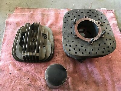1980 Yamaha YZ465 YZ 465 Top End Assembly Ahrma Vintage MX Calvmx