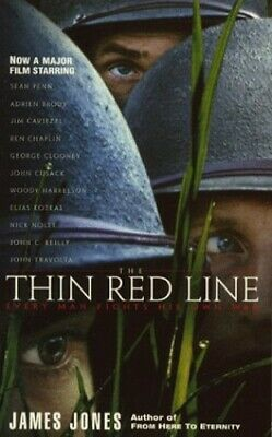 The Thin Red Line by Jones, James Paperback Book The Cheap Fast Free Post