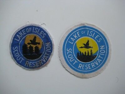 Lake of Isles Camp Patches