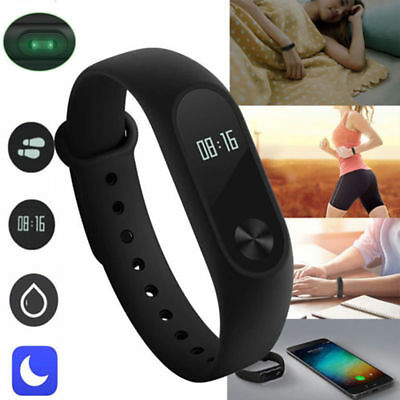 2018 Waterproof IP67 Band Smart Watch Heart Rate Monitor Sports Fitness Tracker