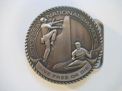 Daniel Webster Council 2013 National Jamboree Buckle - Limited Edition
