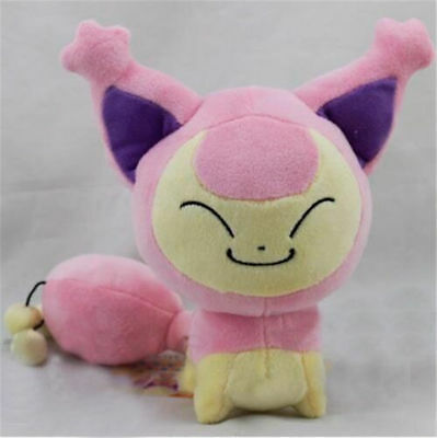 Pokemon Center Skitty Plush Doll Figure Soft Stuffed Toy 7 Inch Collection Gift