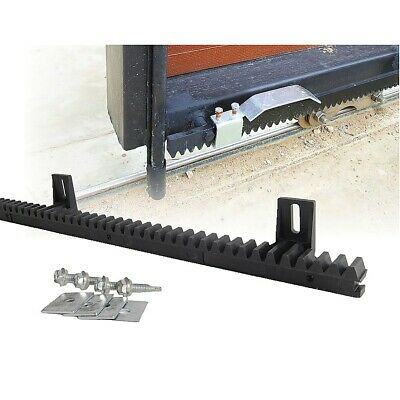 Sliding Gate Hardware Accessories Kit - 4m Gear Rack Track