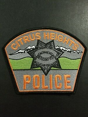 Prototype Citrus Heights California CA Police Patch
