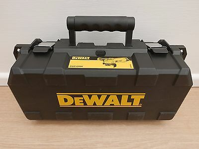 Dewalt Small Heavy Duty Carrying Case Kit Box For Dwe4206 Angle Grinder