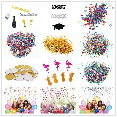 Multi-style Throwing Sparkle Scatter Table Confetti Birthday Party Wedding Decor