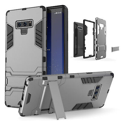 For Samsung Galaxy S7 S8+ S9+ Hybrid Armor Case Shockproof Rugged Bumper Cover