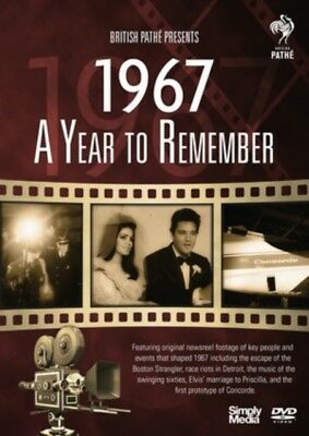 British Pathe News - A Year to Remember 1967 [DVD], 5019322674979