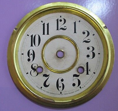 New Haven Clock Co 8 day Norwich Line Dial