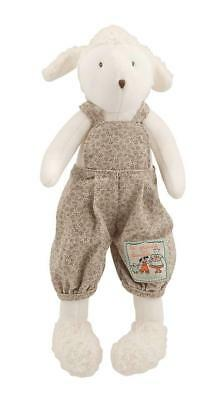 Moulin Roty Little Albert the Sheep (Petit Mouton Albert) Soft Toy Plush 30cm