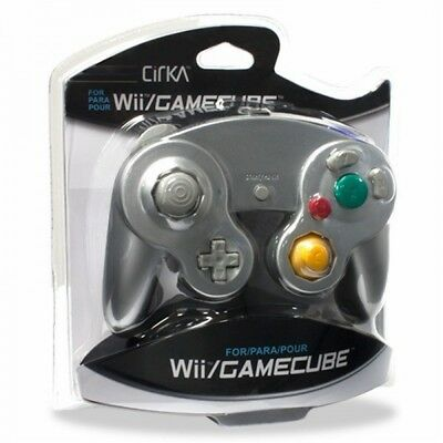Brand New Silver Controller For Nintendo Gamecube / Wii