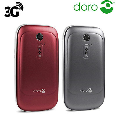 Doro 6520 Big Buttons Loud and Clear Sound Flip Unlocked Mobile Phone Easy Use