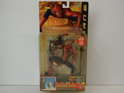 Spiderman Spider-Man 2004 Figur Toy Biz Shoot and Slide 43805 in OVP