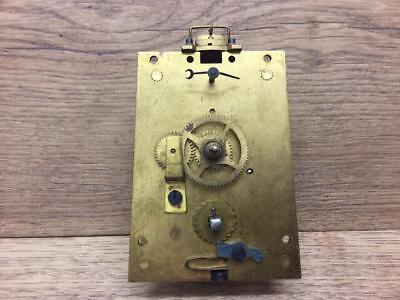 Vintage Carriage Clock Movement? With Platform Escapements Sold As Found.