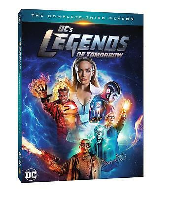 Dc's Legends Of Tomorrow: Complete Third Season Three New Free Shipping