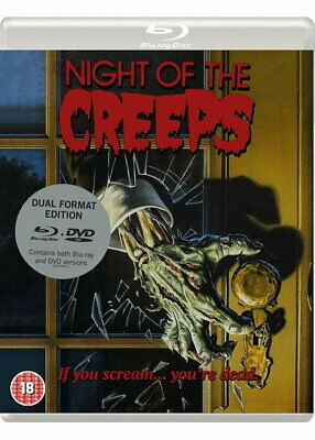Night of the Creeps NEW Blu-ray and DVD