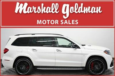 2017 Mercedes-Benz GL-Class  2017 Mercedes GLS 63 AMG  Diamond White over Porcelain/ Black 5,200 miles