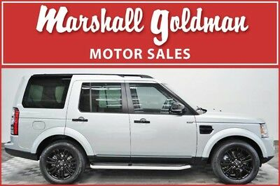 2016 Land Rover LR4  2016 Land Rover LR4 HSE Indus Silver over Ebony leather interior 12,900 miles