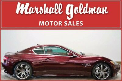 2010 Maserati Gran Turismo  2010 Maserati Granturismo S in Bordeaux with Sabbia leather only 27,000 miles