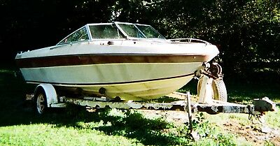LF - 1984 Imperial 19' Bowrider & Trailer - Illinois