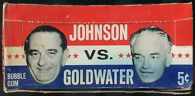 1964 Topps Johnson VS. Goldwater 5-Cent Display Box