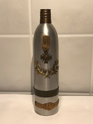 WWI French Trench Art Flask