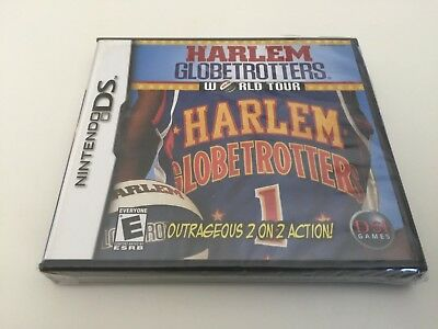 Harlem Globetrotters World Tour (Nintendo DS, 2007) DS NEW!
