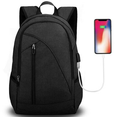 Unisex Laptop Backpack for School & Travel, Tocode Fits 17'' Computer