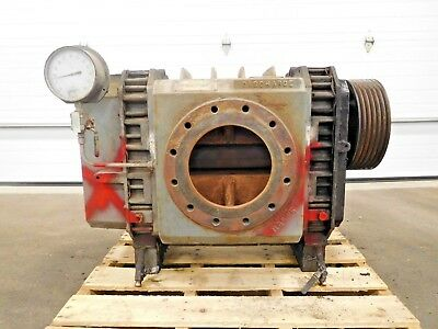 """MO-2482, DRESSER ROOTS 8x21 RCS-JV ROTARY LOBE BLOWER. 12"""" INLET. 10"""" DISCHARGE."""