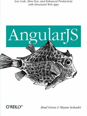 AngularJS by Brad Green Book The Cheap Fast Free Post