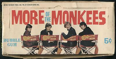 1967 Donruss More Of The Monkees 5-Cent Display Box