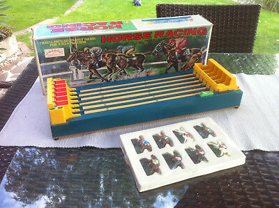 Shinsei Vintage Antique Hong Kong Horse Racing Game by Shinsei Battery Operated