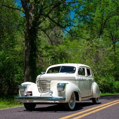 """1939 Other Makes Series 97 Supercharged """"Sharknose"""" Sedan 1939 Graham Series 97 Supercharged """"Sharknose"""" Sedan"""