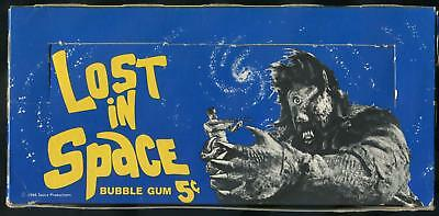 1966 Topps Lost In Space 5-Cent Display Box