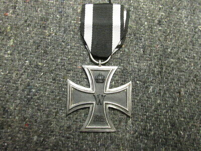 "Wwi Imperial German Iron Cross 2Nd Class-Ring Marked ""S"""
