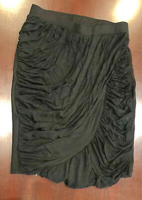 H&M black  mini skirt with lining 18 IN LENGTH SIZE XS NEW